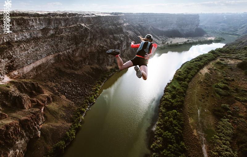 Jumping in Twin Falls